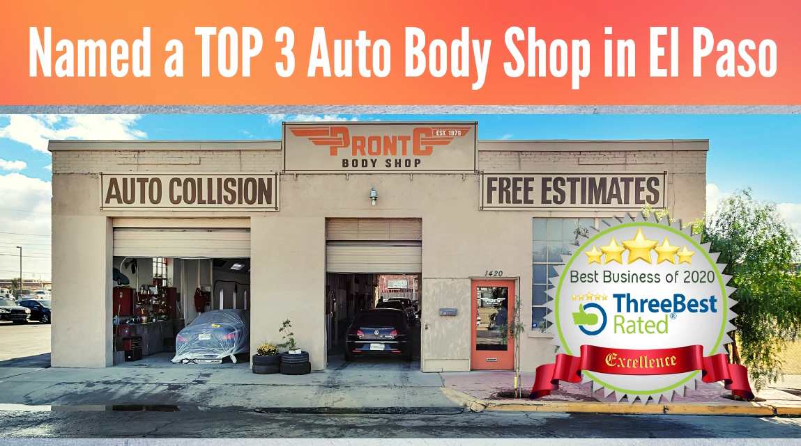 Named a Top 3 Best Auto Body Shop in El Paso